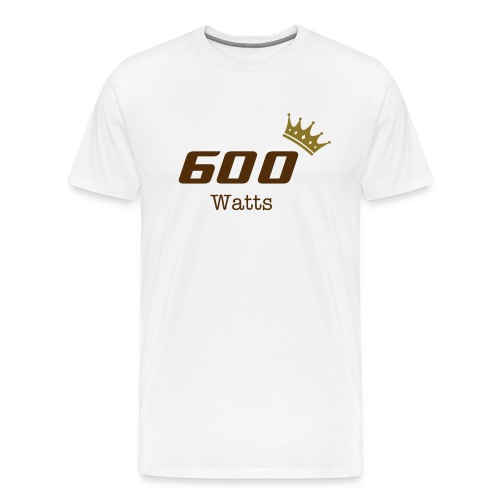 Royal Watts Collection - 600 Watts - natural - Men's Premium T-Shirt