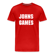 T-Shirts ~ Men's Premium T-Shirt ~ Johns Games Men's Tee