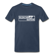 T-Shirts ~ Men's Premium T-Shirt ~ Bleacher Nation Logo 3XL & 4XL