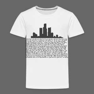 I am Detroit - Toddler Premium T-Shirt
