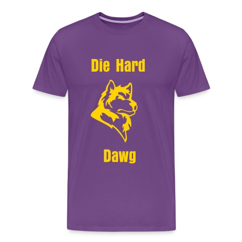 Die Hard Regal  - Men's Premium T-Shirt
