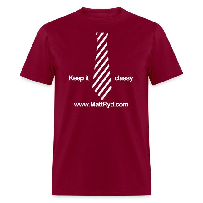 """""""Keep it classy"""" unisex tee"""