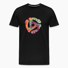 45 Record Adapter Tie Dye Shirt