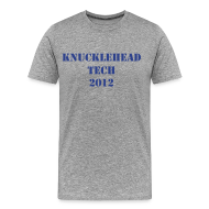 T-Shirts ~ Men's Premium T-Shirt ~ KnuckleHead Tech Men's Tee