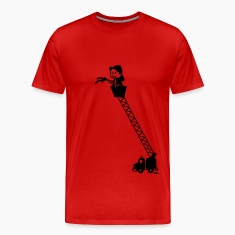 Fire Truck with Fireman T-Shirts