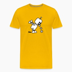 Puking Robot  T-Shirts