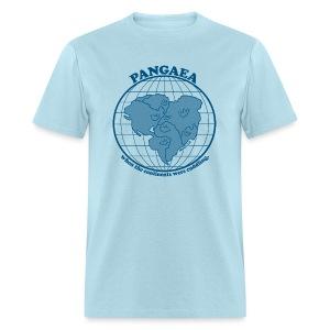 Men's Pangaea T-Shirt Blue - Men's T-Shirt