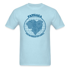 Men's Pangaea T-Shirt Blue - Men's T-Shirt