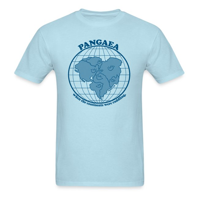 Men's Pangaea T-Shirt Blue