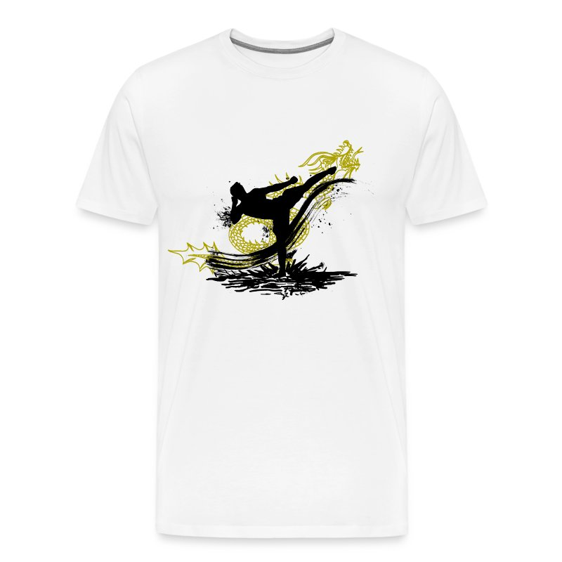 The Dragon Kick - Men's Premium T-Shirt