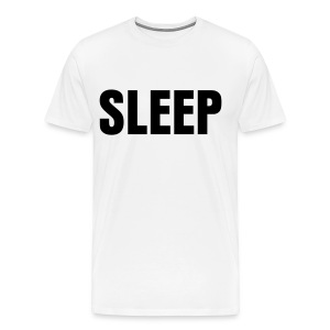SLEEP Men's T-shirt - Men's Premium T-Shirt