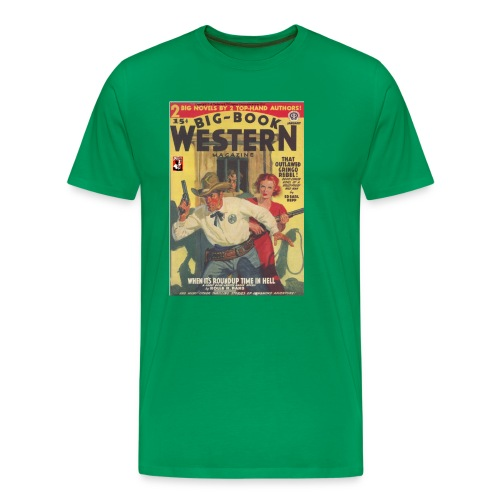 Big Book Western Jan 1940 3/4XL - Men's Premium T-Shirt