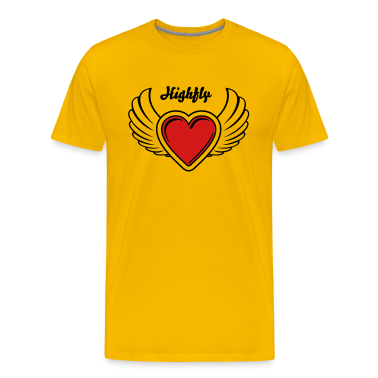 Winged Valentine's Heart 23_2c T-Shirts
