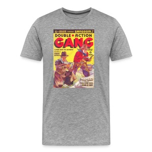 Souble Action Gang Pulp May 1936 1st Issue 3/4X: - Men's Premium T-Shirt