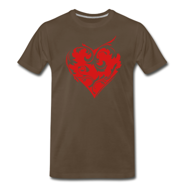 Floral Heart 1 T-Shirts