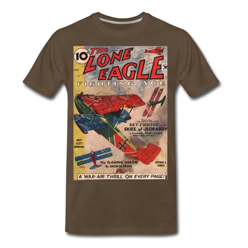 Lone-eagle-1934-08-s/4XL - Men's Premium T-Shirt
