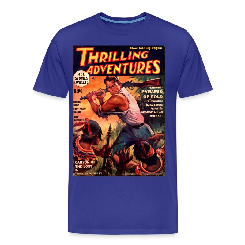 ThrillingAdventure103311 3/4XL - Men's Premium T-Shirt