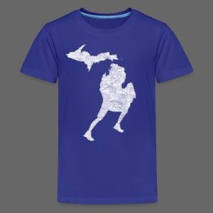 Love Michigan Running - Kids' Premium T-Shirt