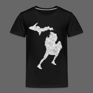 Love Michigan Running - Toddler Premium T-Shirt