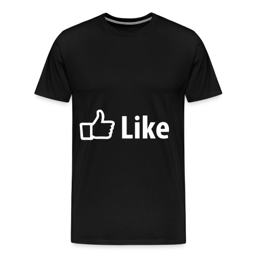 FB Like  - Men's Premium T-Shirt