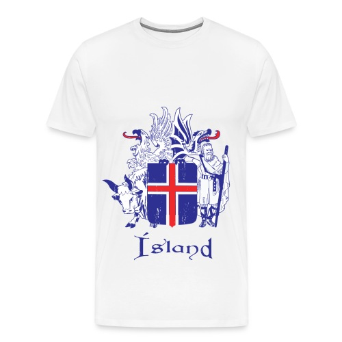 Men's Premium T-Shirt - shirt,island,great,country,beautiful