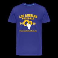 T-Shirts ~ Men's Premium T-Shirt ~ Los Angeles Football T-Shirt (Royal Blue)
