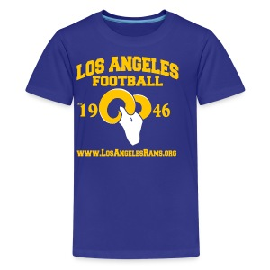 Los Angeles Football Children's T-Shirt (Royal Blue) - Kids' Premium T-Shirt