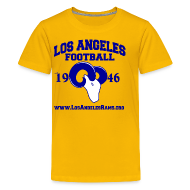 Kids' Shirts ~ Kids' Premium T-Shirt ~ Los Angeles Football Children's T-Shirt (Yellow)