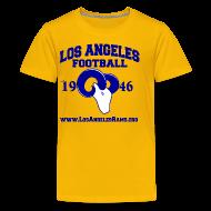 Kids' Shirts ~ Kids' Premium T-Shirt ~ Los Angeles Football Children's T-Shirt (Yellow)