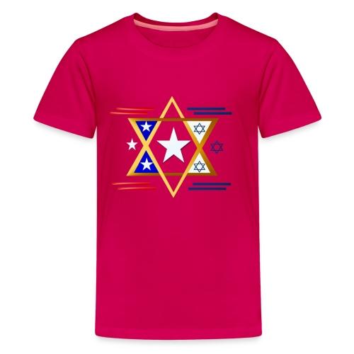 America-Israel - Kids' Premium T-Shirt