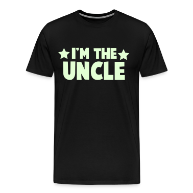 new i'm the uncle family label design T-Shirts