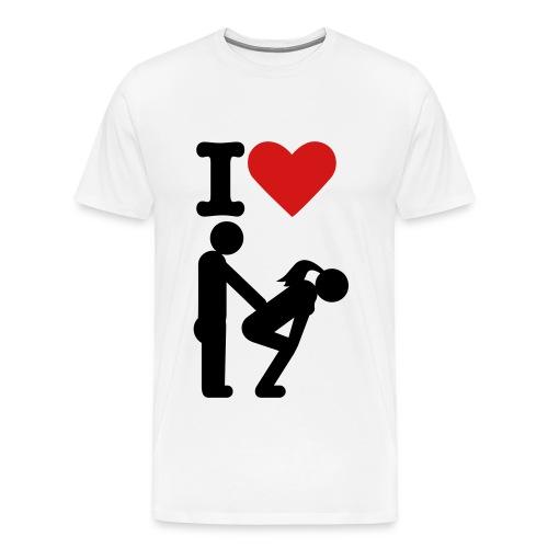 I Love Doggy - Men's Premium T-Shirt