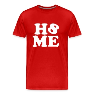 Men's Red H8ME - Men's Premium T-Shirt