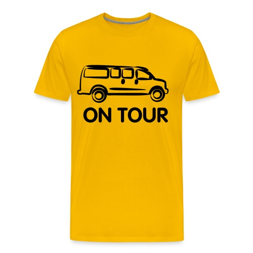 On Tour men - Men's Premium T-Shirt