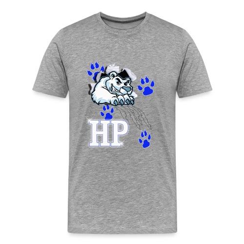 Polar Bear Busting Out - Men's Premium T-Shirt