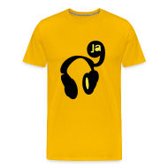 T-Shirts ~ Men's Premium T-Shirt ~ 9ja hip hop music heads