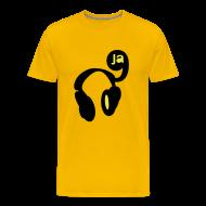 T-Shirts ~ Men's Premium T-Shirt ~ 9ja hip hop music heads
