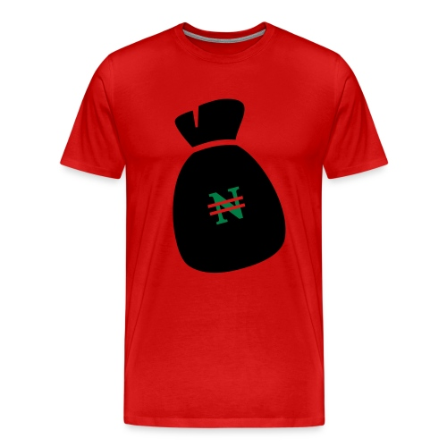 NairaBag - Men's Premium T-Shirt