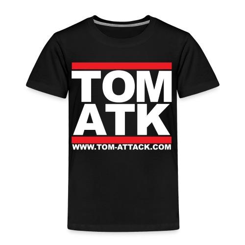 Tom-Attack DMC Toddler Tee Black - Toddler Premium T-Shirt