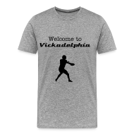 T-Shirts ~ Men's Premium T-Shirt ~ Welcome To Vickadelphia