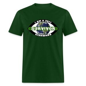 2011 GISHWHES Survivor (DESIGN BY ADRIA) - Men's T-Shirt