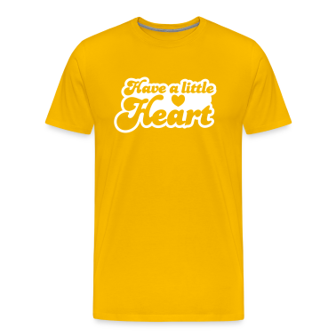 have a little heart love heart funky font T-Shirts