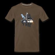 T-Shirts ~ Men's Premium T-Shirt ~ Granada Theater Joyful Kraken