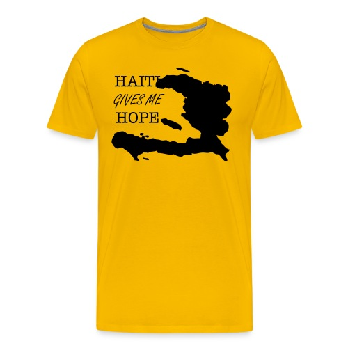 Hait Gives Me Hope - Men's Premium T-Shirt