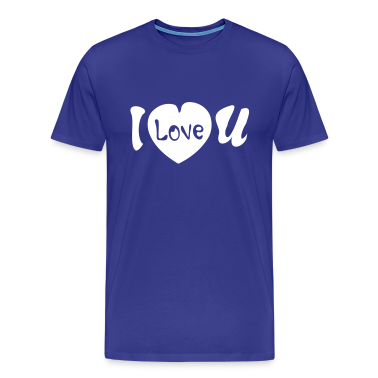 I love you Men's Heavyweight T-Shirt
