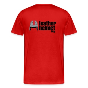 LeatherHead Red - 3X  or 4X - Men's Premium T-Shirt