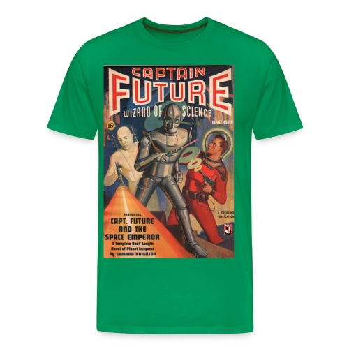Captain Future First Issue - Men's Premium T-Shirt