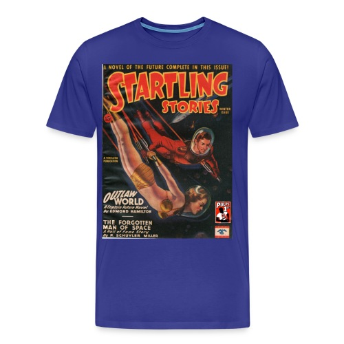 Startling Stories with Captain Future Winter 1945 - Men's Premium T-Shirt