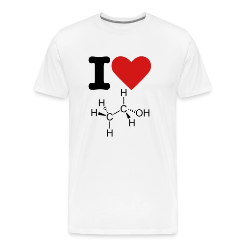 I Love Alcohol Tee - Men's Premium T-Shirt