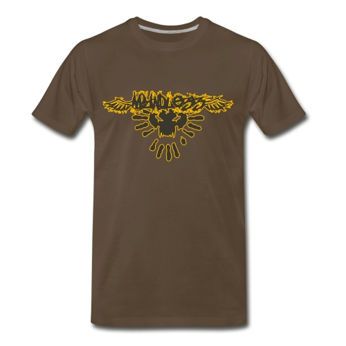 3handbeastfacE [honeyhug] - Men's Premium T-Shirt